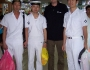 Begegnung mit japanischen Marinesoldaten in Saigon