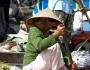 Schwimmende Märkte im Mekong