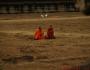 Mönche in Angkor Wat